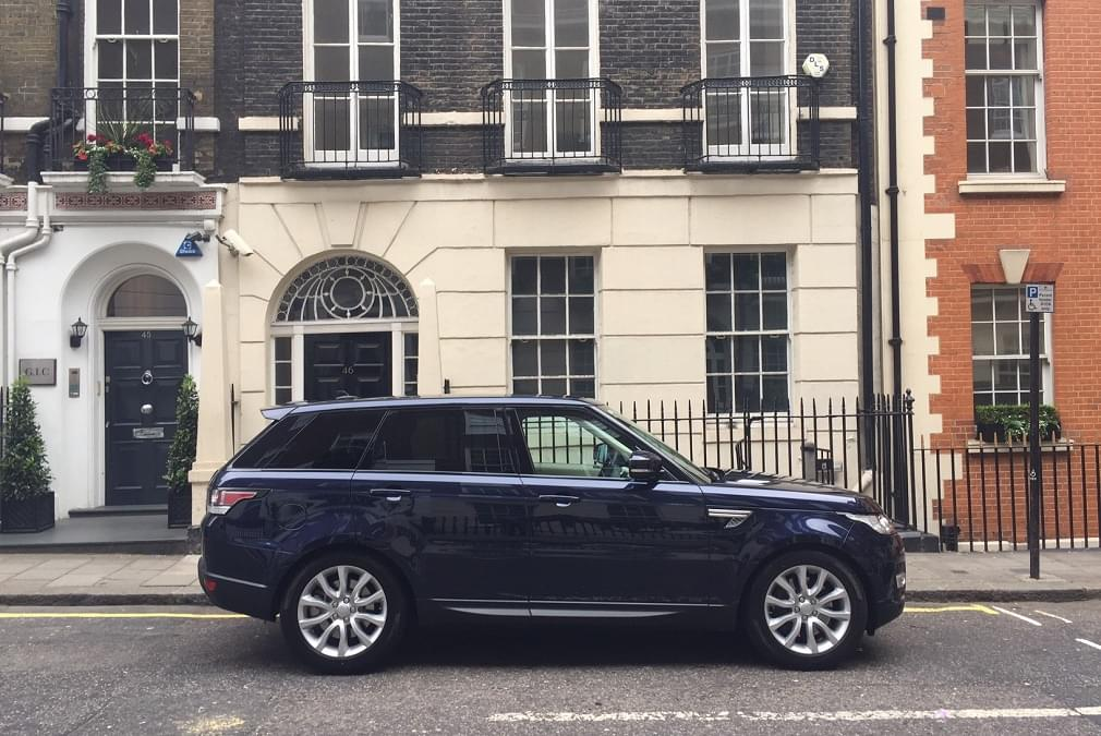 Rent luxury SUV in London
