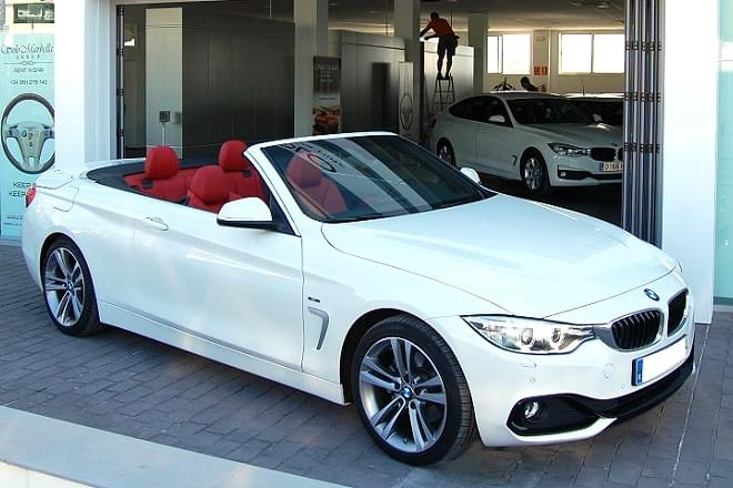 2d7446f2cd43 The Series 4 Convertible offers four trim levels and a myriad of engines to go  for