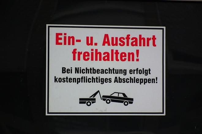 Parking in Germany