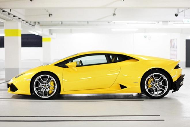 Rent Lamborghini Huracan in Germany