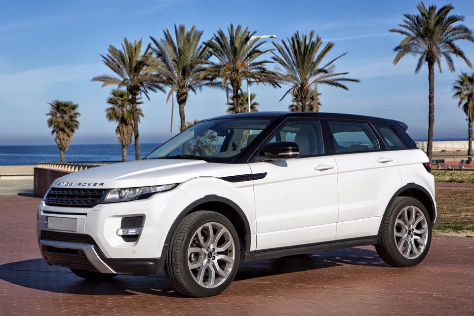 Range Rover Sport White - Spain
