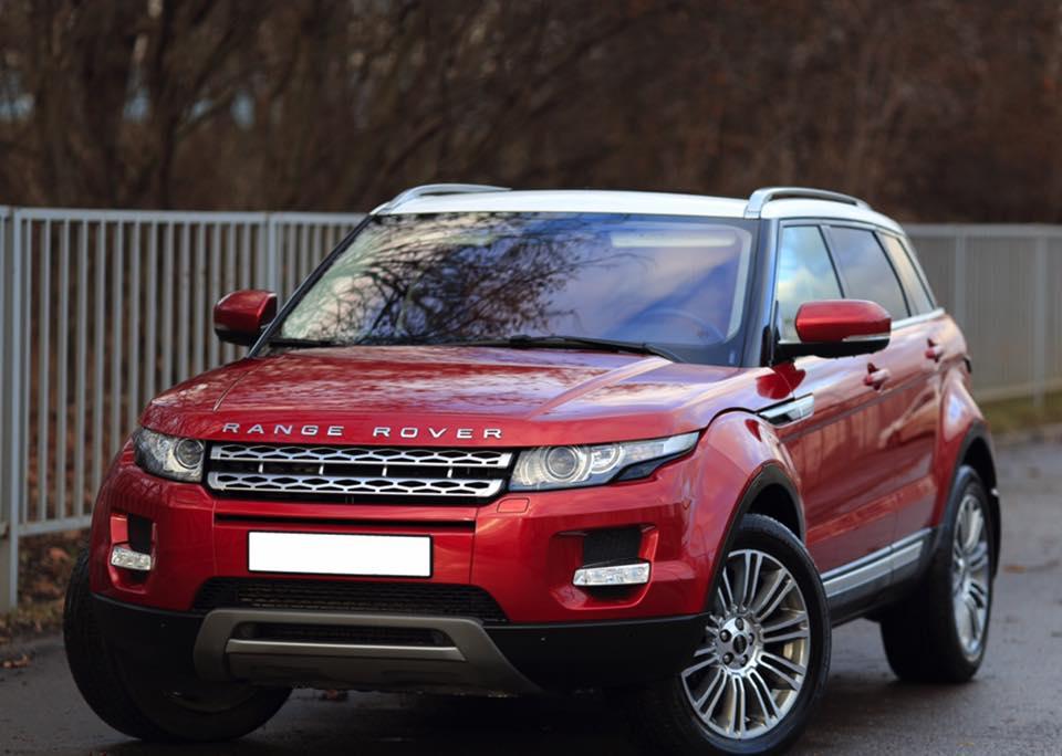 Range Rover Evoque Red - Marbella