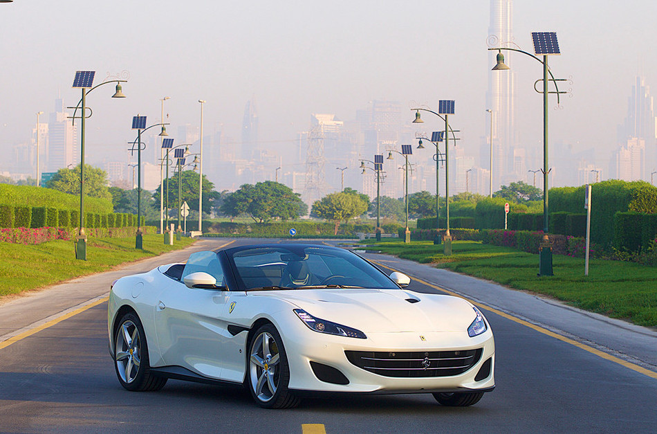 Rent Ferrari Portofino in Europe