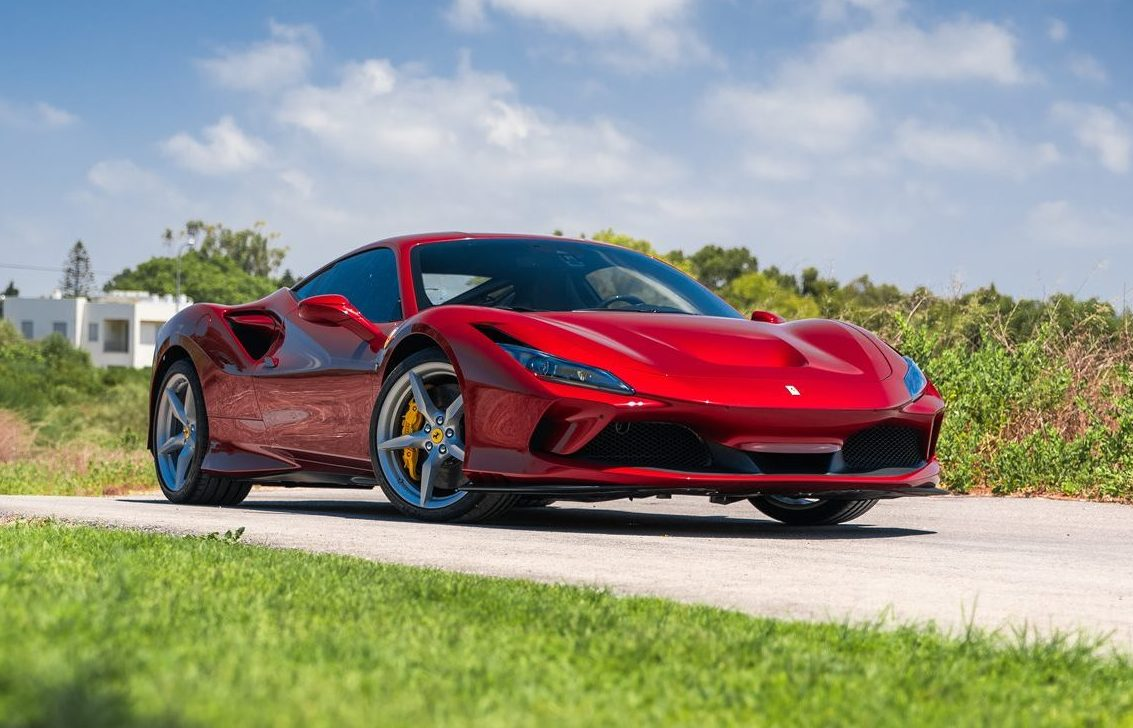 Rent Ferrari F8 Tributo in Italy 2021